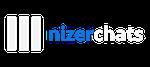 NizerChat Logo White
